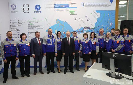 Путин дал разрешение на запуск Балаклавской и Таврической ТЭС на Крымском полуострове