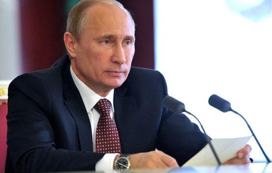 Выступление Путина перед видеосовещанием с правительством 2