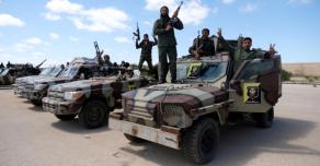 Ливийской национальной армией укрепляются позиции у города Сирт