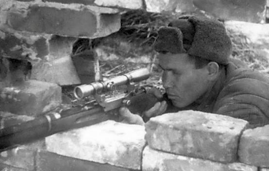 Советский снайпер включен в список пяти наилучших стрелков мира