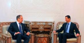 Визит Лаврова в Сирию