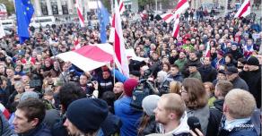 Марш в память о Романе Бондаренко в Минске закончился разгоном и задержаниями протестующих