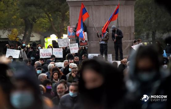Продолжение протестов в Ереване