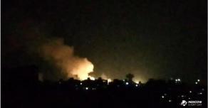 Израилем нанесены ракетные удары по территории Сирии неподалеку от Дамаска