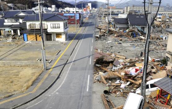 Сильное землетрясение произошло в северо-восточных регионах Японии