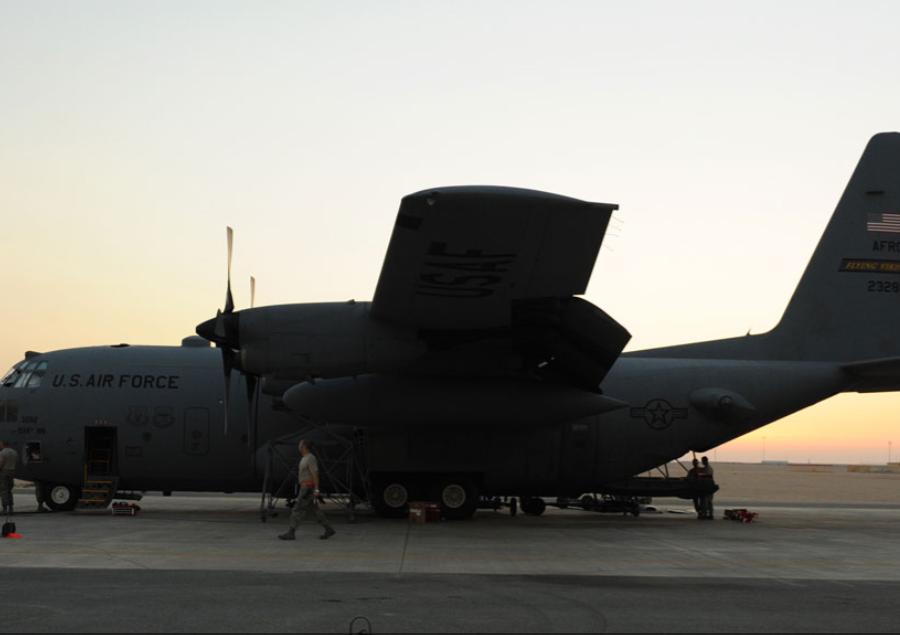 В Украину продолжают прибывать военные самолеты ВВС США