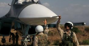 Новый раунд российских военных самолетов в Сирии против боевиков организации «ИГИЛ»