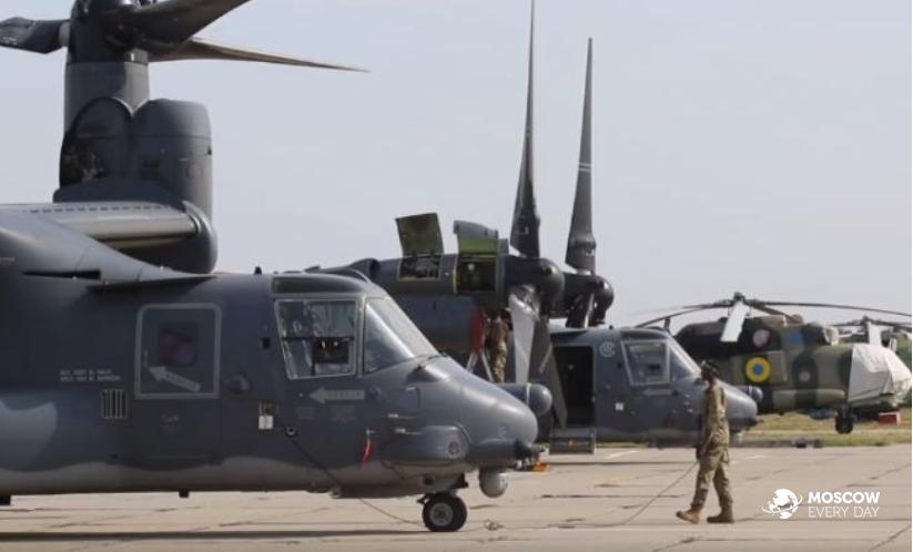 Американский военный контингент перебрасывается Штатами на Украину