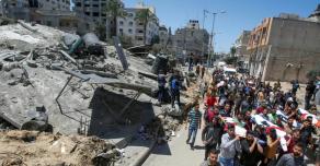 Власти Сектора Газа заявили о сотнях миллионов долларов ущерба от ракетных ударов Израиля