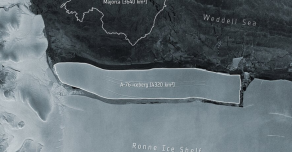 В Антарктиде образовался крупнейший в мире айсберг