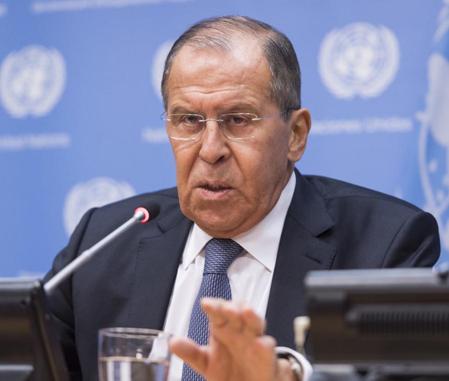 Во время выступления на заседании Совбеза ООН Лавров обвинил Запад в тоталитаризме