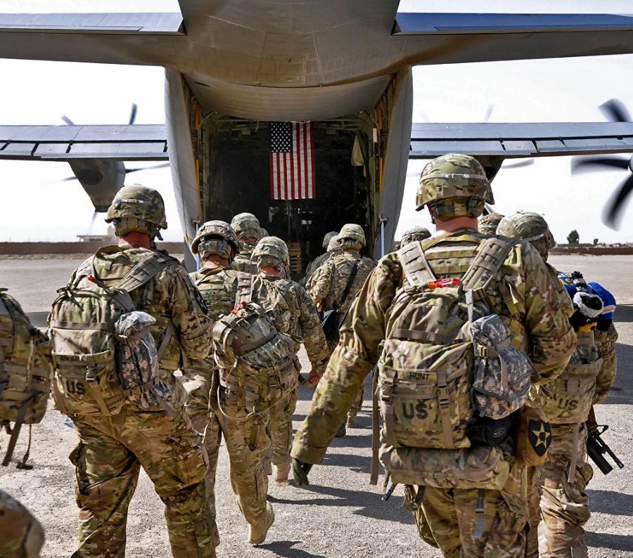 Треть американского военного контингента покинула Афганистан