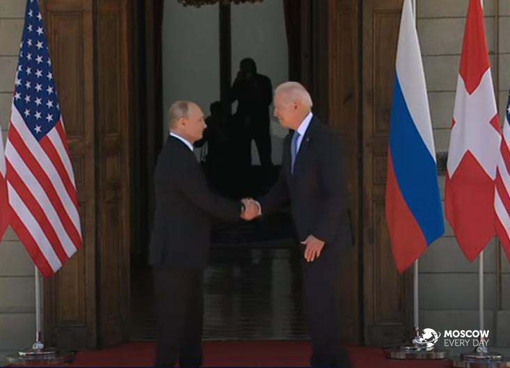 Результаты встречи президентов Российской Федерации Владимира Путина и США Джо Байдена