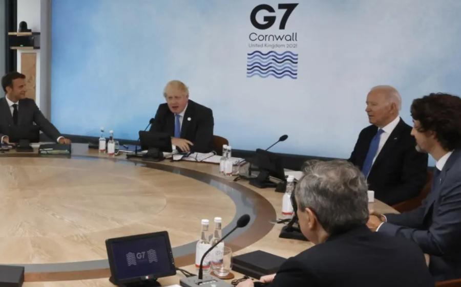 На встрече лидеров «Большой семерки» проведут обсуждения пандемии, климата и Российской Федерации