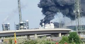 На германском химическом заводе Bayer прозвучал сильный взрыв